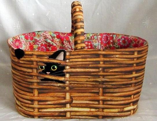 Einkaufskorb Katze