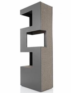 schlicht und modern katzenbaum der luxusklasse. Black Bedroom Furniture Sets. Home Design Ideas