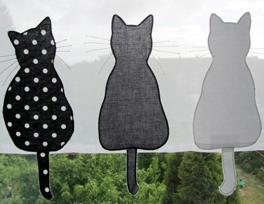 Bistrogardine mit reihenweise Katzen | Katzenblog.de