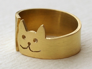 Bronzering Katze