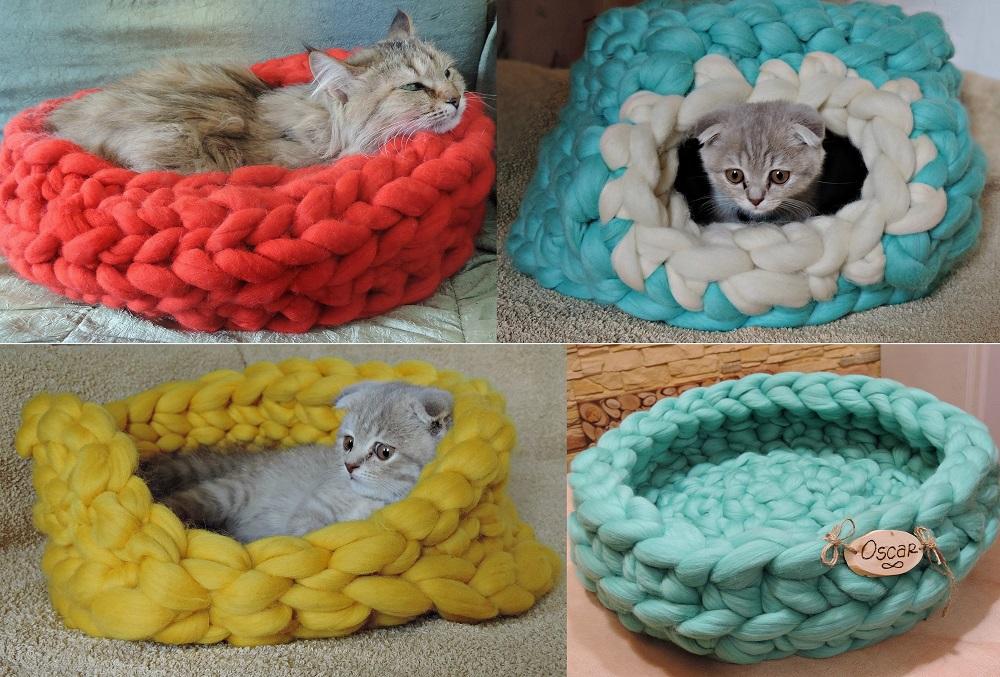 Katzenkorb Merinowolle Katzenblog