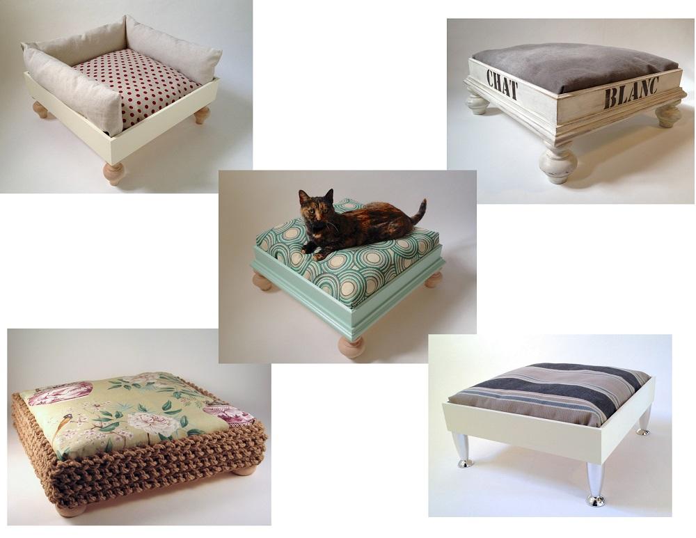 Katzenbetten Holz