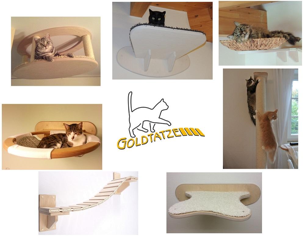 Katzenmoebel Goldtatze Catwalk