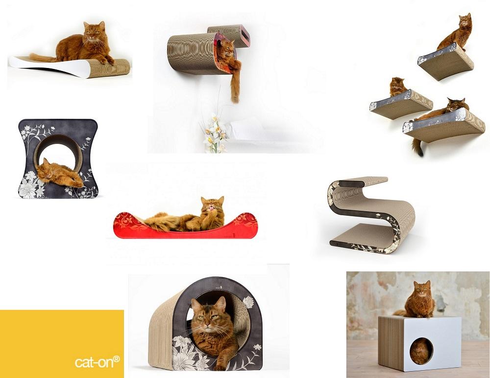 katzenm bel aus wellpappe von cat on interessantes f r katzenfreunde. Black Bedroom Furniture Sets. Home Design Ideas