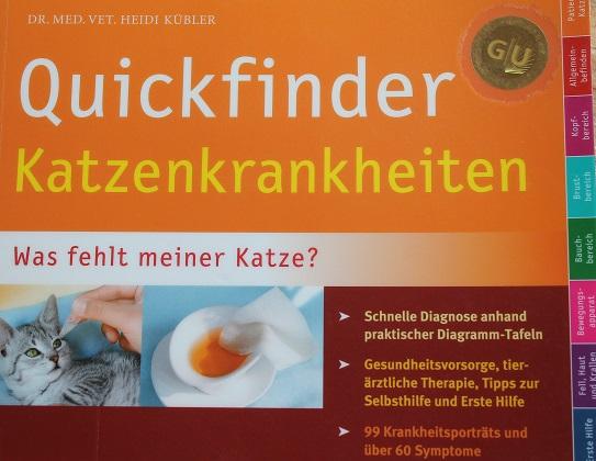 Qickfinder Katzenkrankheiten Buch