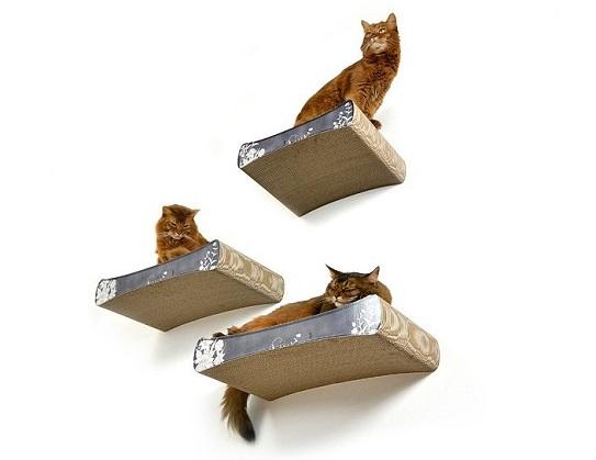 Wandkratzbaum-Katzensitzbretter