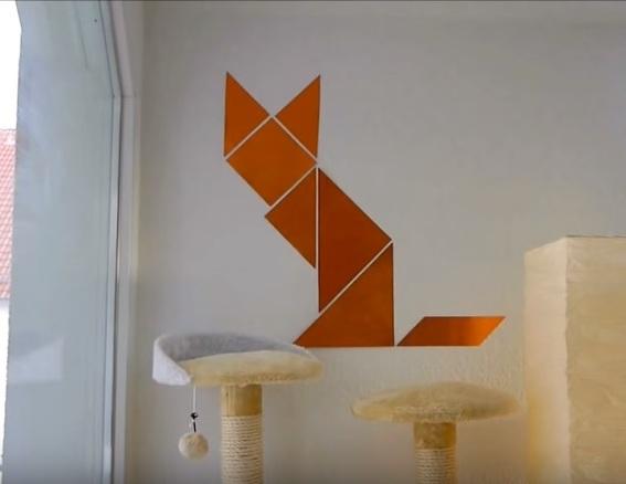 diy katzen wandtattoo selber machen interessantes f r katzenfreunde. Black Bedroom Furniture Sets. Home Design Ideas