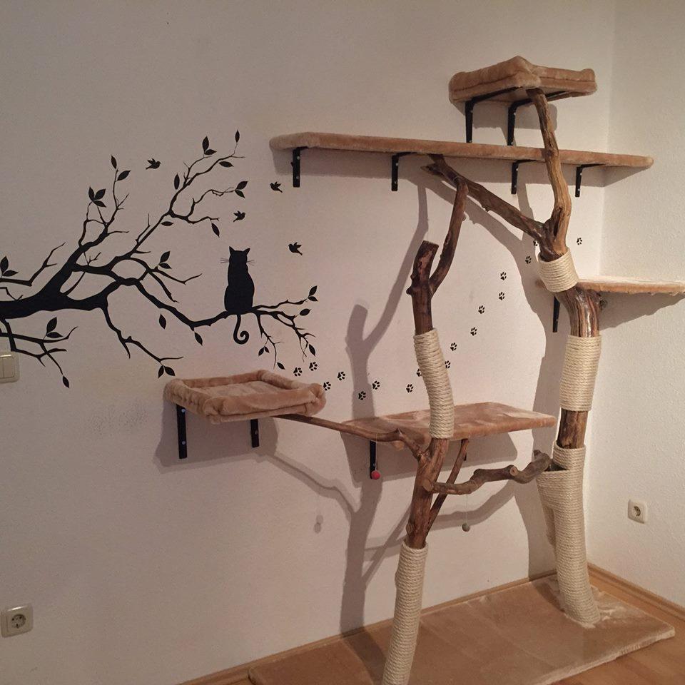 DIY – Naturkratzbaum selber bauen – Katzenblog.de – Interessantes für Katzenfreunde.