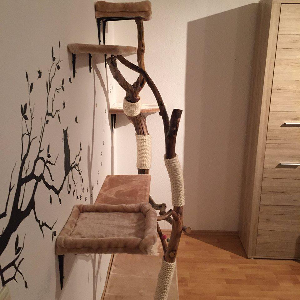 DIY - Naturkratzbaum selber bauen Katzenblog.de