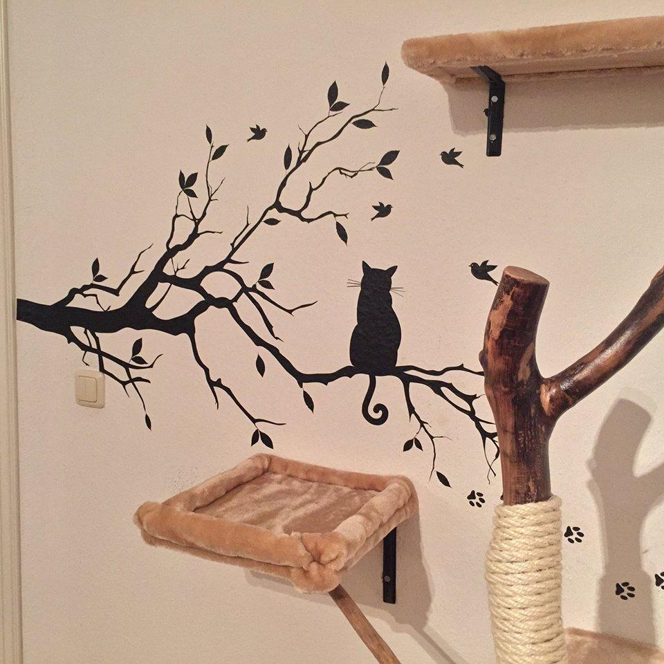 Naturkratzbaum selber bauen ~ Ihr Traumhaus Ideen