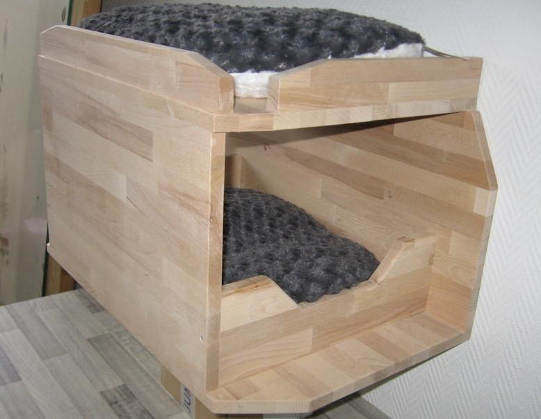 Katzen-Wandbett
