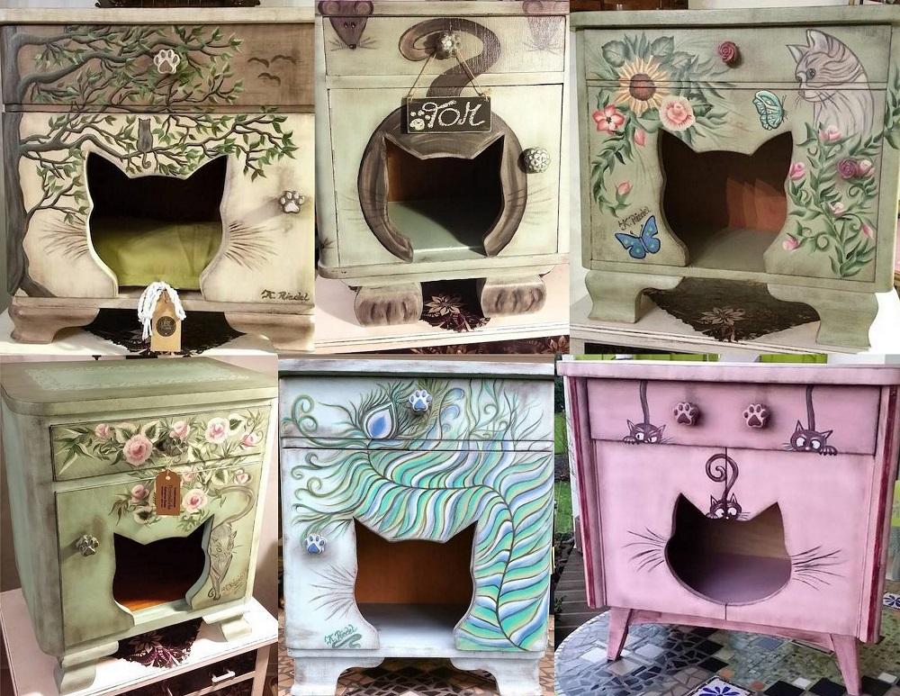 Katzenschraenkchen Fummelecke