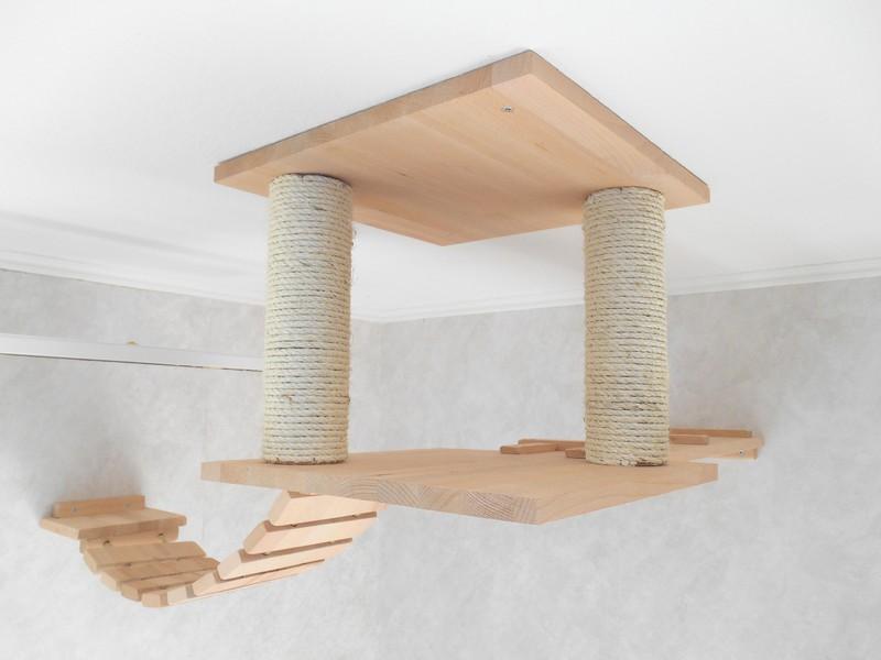 Decken Kletterkonstruktion Katze
