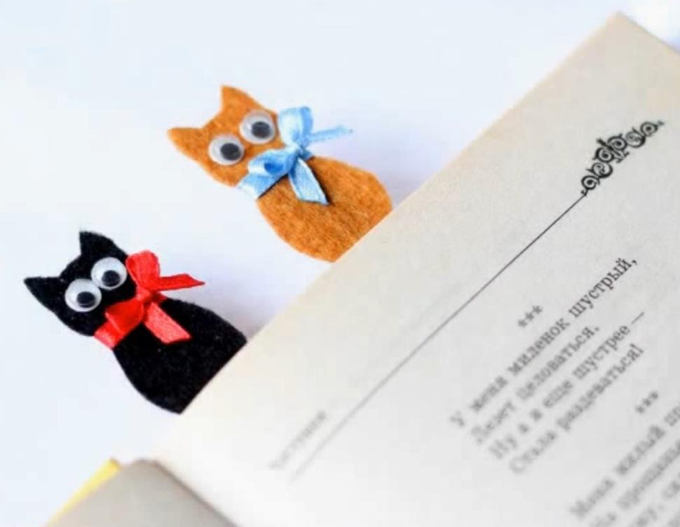 Bastelanleitung Katzen Lesezeichen Katzenblog De