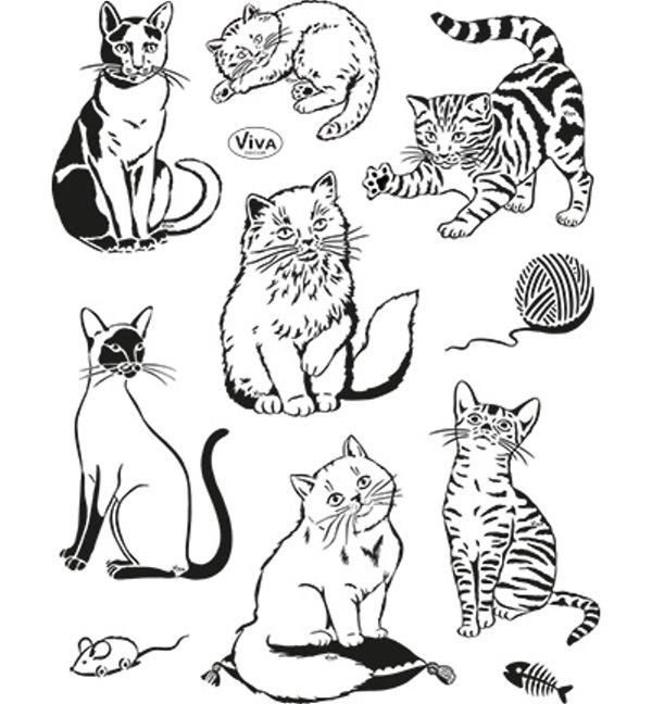 Clear Stamp Katzenstempel