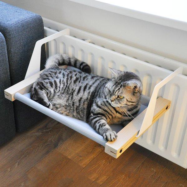 Heizungsliege fuer Katzen