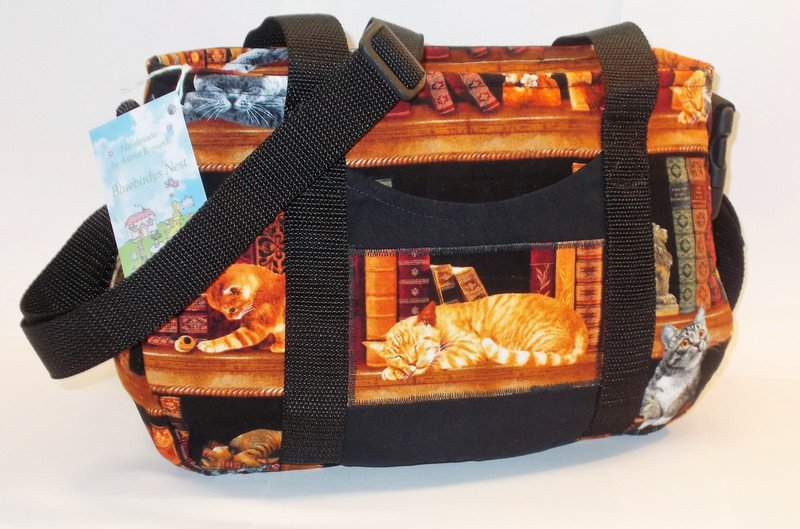 Tasche Katzenmotiv