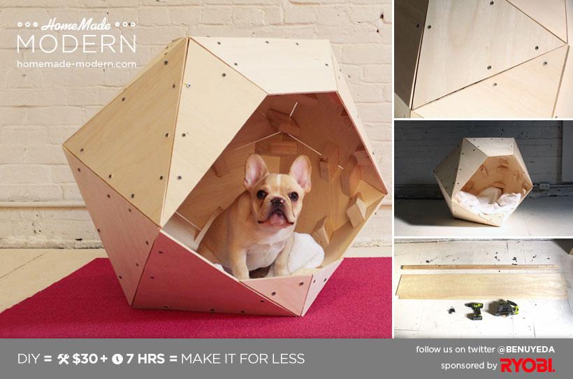 Katzenhaus geometrisch