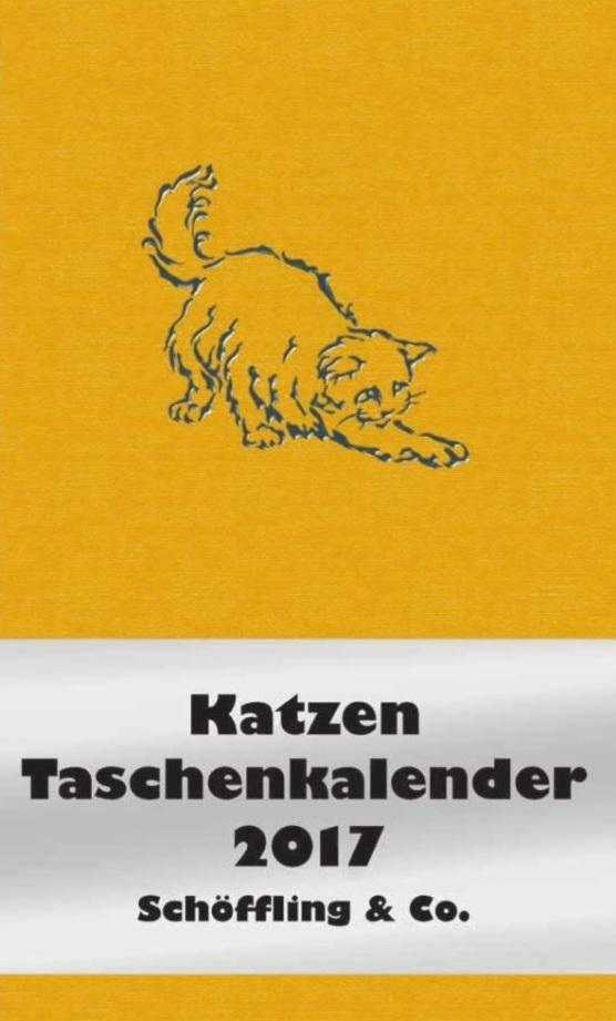 Katzen-Taschenkalender