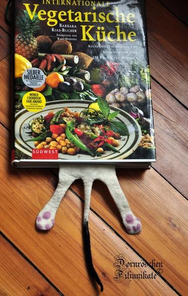 Katzenlesezeichen