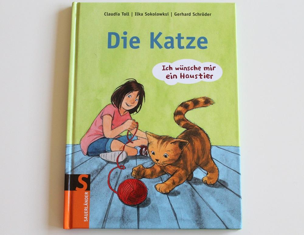 Katzenbuch fuer Kinder
