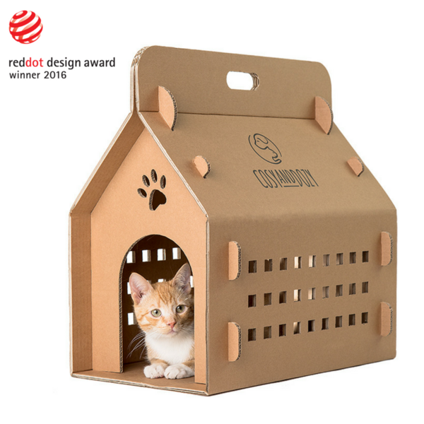 Katzentransportbox Karton