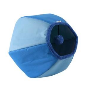Katzenhoehle rund Ball