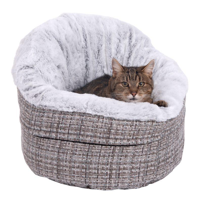 Katzenbett hoher weicher Rand