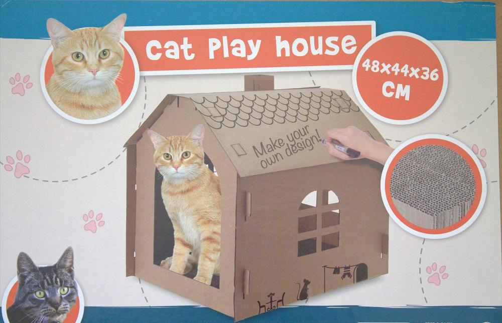 Katzenhaus Karton