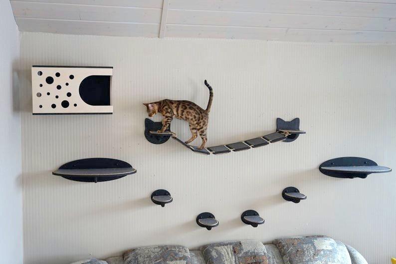 Wandmoebel Katzen