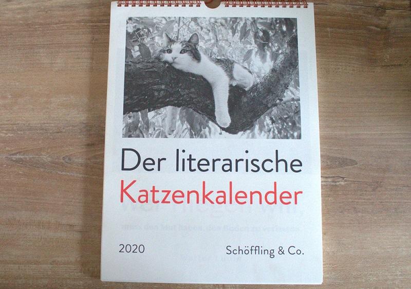 Literarischer Katzenkalender 2020
