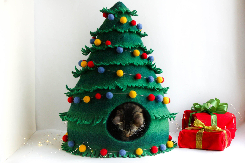 Katzenhoehle Weihnachtsbaum