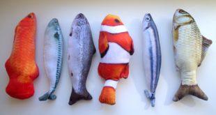 Katzenspielzeug Fisch amazon